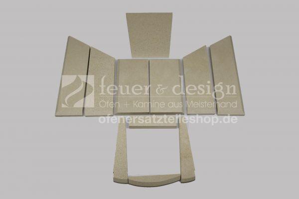 Skantherm Ivo Vermiculitesatz | ohne Tertiärluft | bis Baujahr 2008 | 11 teilig