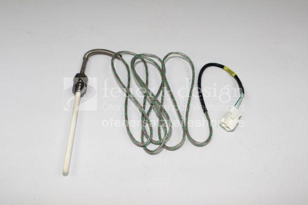 Brunner EOS Thermoelement für Anschluss T1 und T2 | lang mit Keramikrohr M 12 und kompletter Verschr