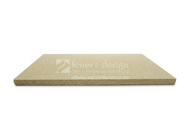 Feuerraumplatte Vermiculite | 49,5 x 62 x 2 cm | bis 1100 °C  SF 600