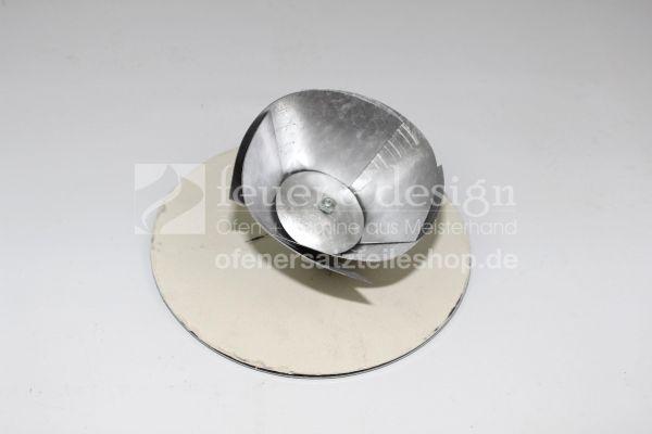 Schornsteinverschluss | FAL Kapsel verstellbar | D=160-200 mm | Blindkappe