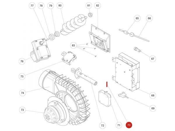 Rika Kapo Silikonschlauch   N111551   Splitzeichnung Nr. 70