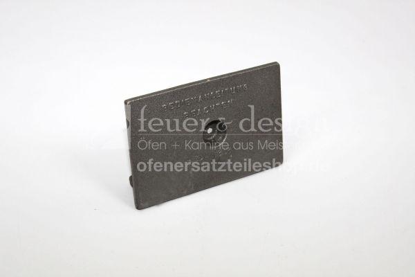 Ortrand Schutzplatte | Fülltürschutz zu E2020+E2050