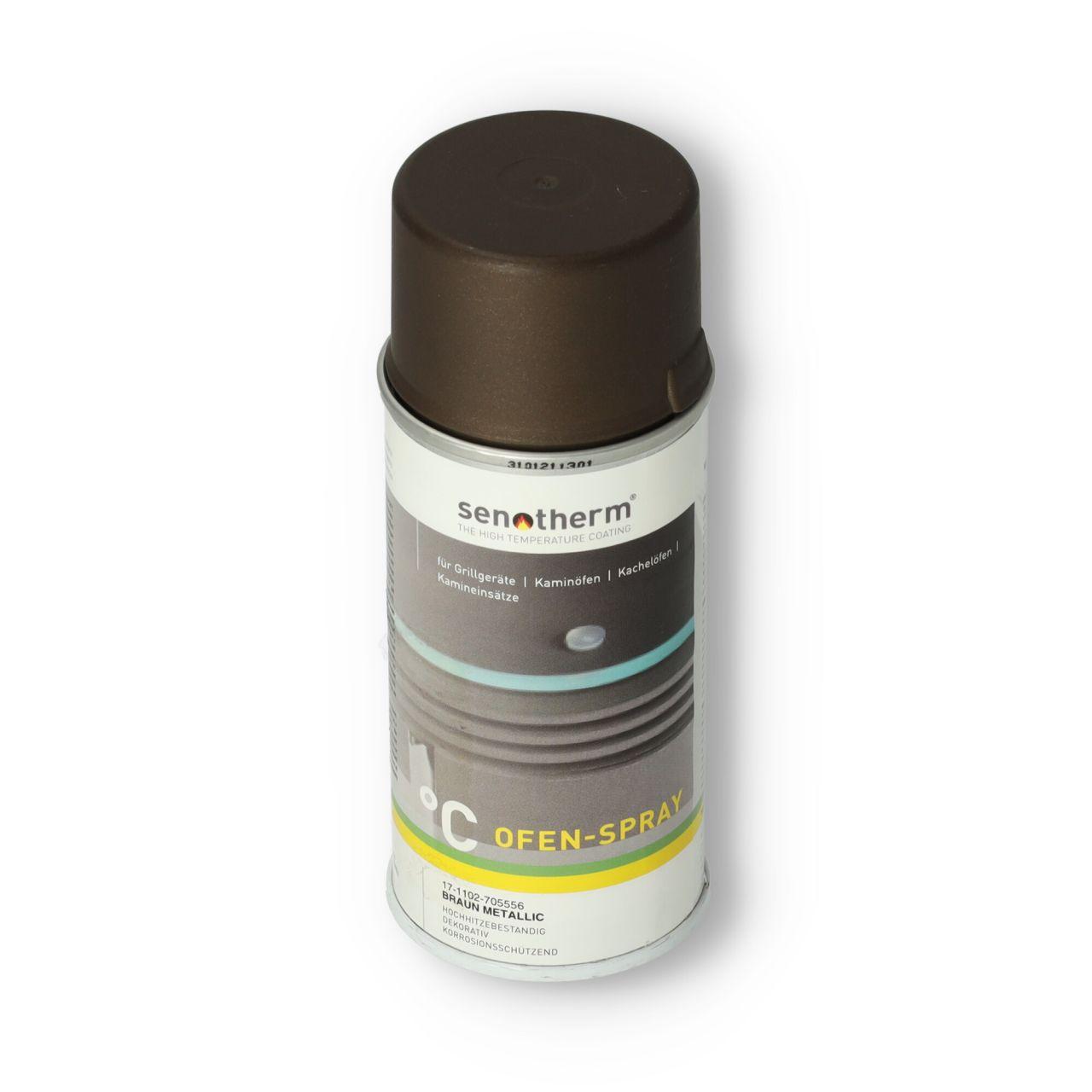 Ofenlack braun-metallic UHT   Senotherm   150 ml