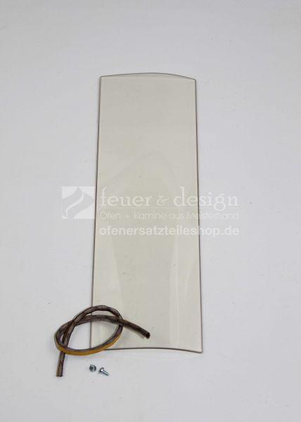 Contura Seitenglasscheibe | inkl.Dichtung, aussen | für die Contura Serie 800