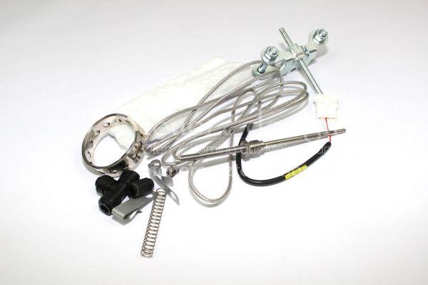 Brunner USA Abgasfühleranschluß mit Fühler ( kurz ) | USA Abgasfühleranschluss