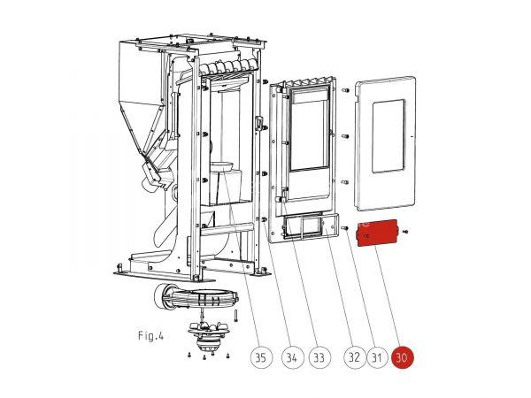 Putzdeckel metallic zu Rika Memo | Z32422 | Splitzeichnung Nr. 30