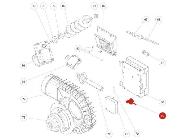 Rika Kapo USB Kabel   N111989   Splitzeichnung Nr. 69