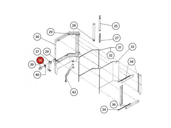 Griffhülse zu Rika Amato | Z14937 | Splitzeichnung Nr. 38
