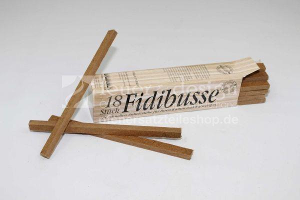 Schachtel Fidibus Kaminanzünder 18 St.   Original Brunner Fidibusse