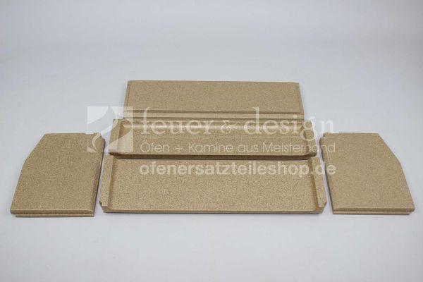 Contura Feuerraumauskleidung | Vermiculitesatz | für die Contura Serie 300