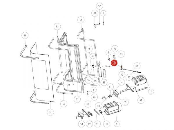 Rika Jazz Seilrolle | Z33895 | Splitzeichnung Nr. 30
