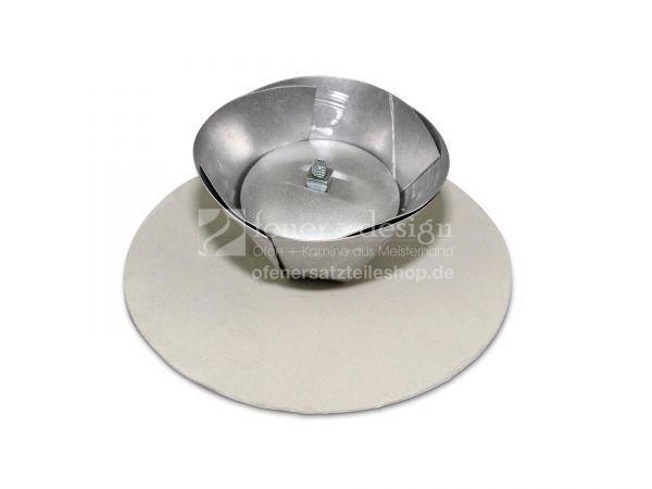 Schornsteinverschluss D = 100 - 145 mm FAL Kapsel verstellbar | Blindkappe