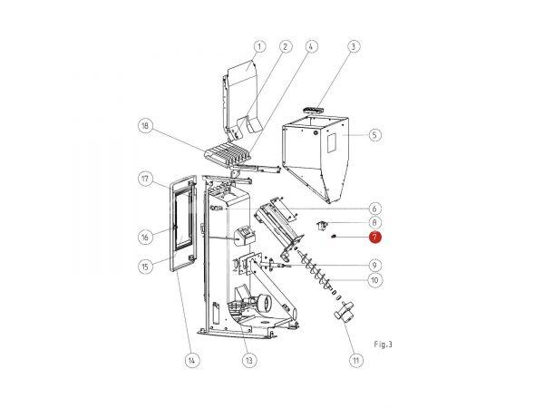 Sicherunghalter zu Rika Memo   N107887   Splitzeichnung Nr. 7