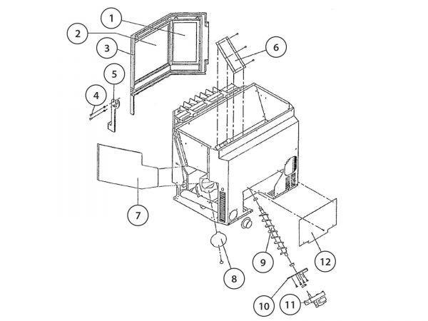 Rika Integra II Kabel Air Sensor | Z32215
