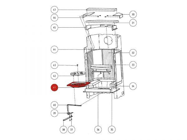 Rika Atrio Bodenrost | Z21352 | Splitzeichnung Nr. 41