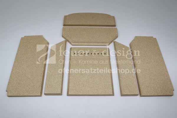 Contura Vermiculitesatz | Contura 810/820T | Feuerraumauskleidung