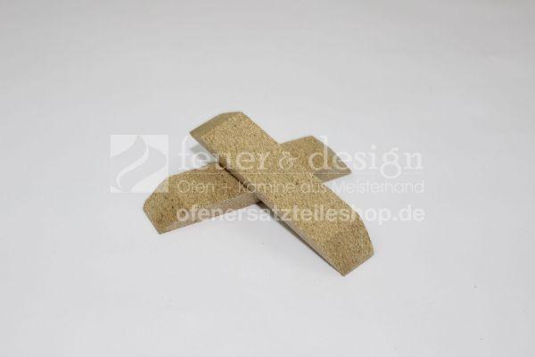 Vermiculite Seiten vorne links und rechts ( 2 Teile ) | TT30G | TT30GS | Feuerraumauskleidung