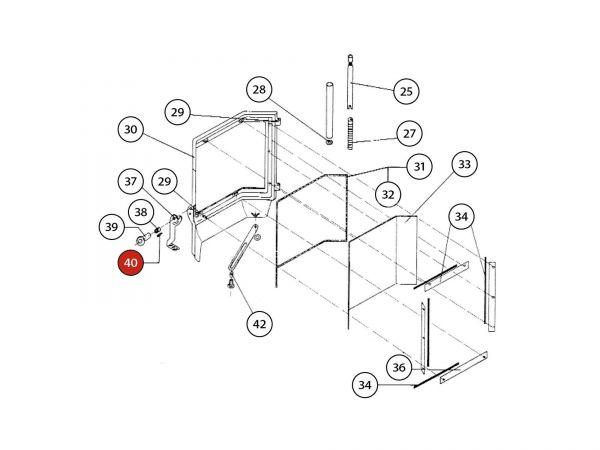 Schaftschraube zu Rika Amato | N108427 | Splitzeichnung Nr. 40