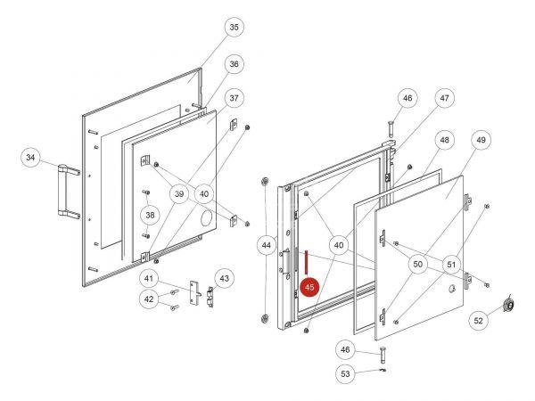 Rika Back Runddichtschnur schwarz D06   N103066   Splitzeichnung Nr. 45   Meterware