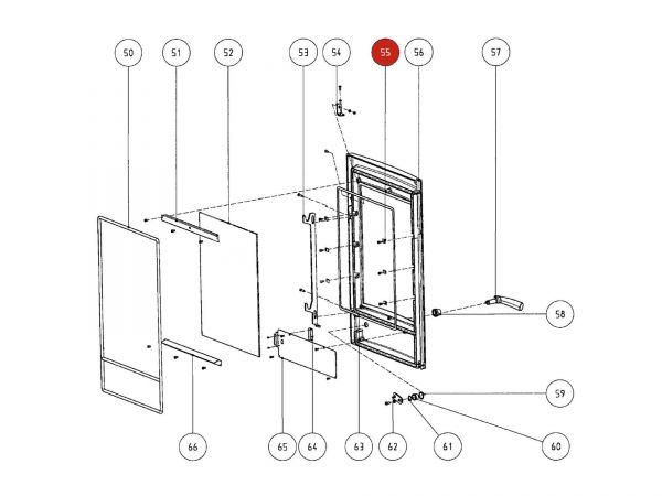 Rika Atrio Glashalter | Z28731 | Splitzeichnung Nr. 55
