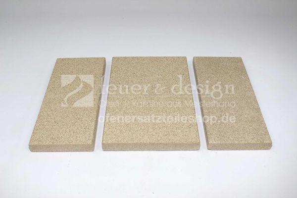 Contura Vermiculitesatz | Contura 450 | 450T | Feuerraumauskleidung