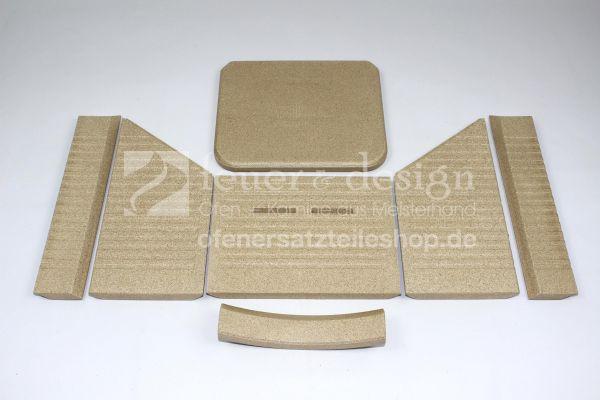 Termatech Vermiculite Satz | TT20 | TT21 | Feuerraumauskleidung | Brennraumauskleidung
