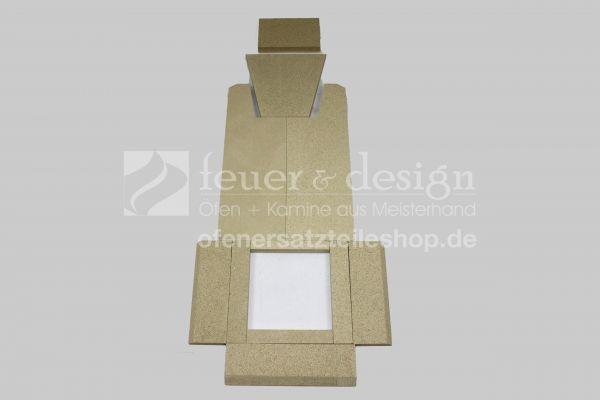 Skantherm Pico Vermiculitesatz | 11 teilig | Brennkammerauskleidung