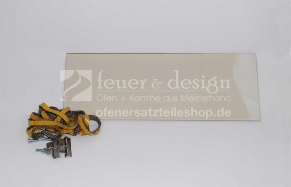 Contura Seitenglas | Contura 556/556 Style & 586/586 Style | inkl. Dichtung, innen