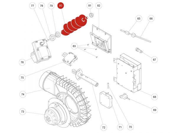 Rika Kapo Gleitlager Di16   Z35182   Splitzeichnung Nr. 79