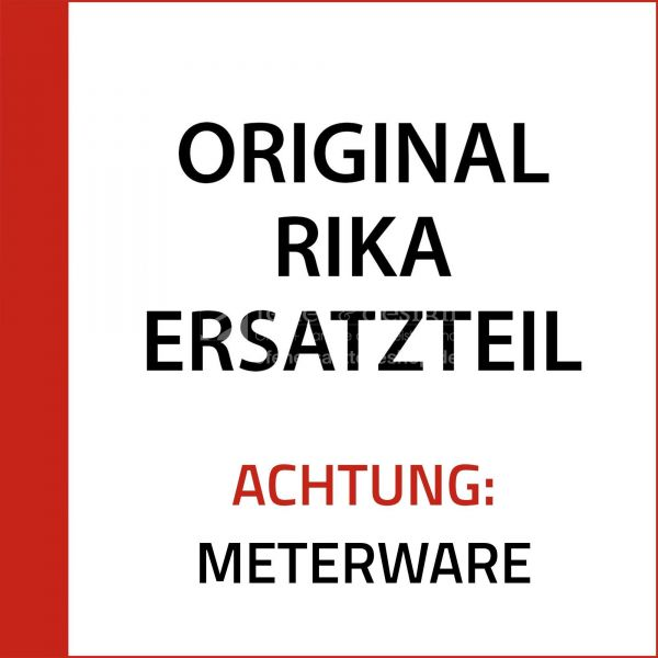 Rika Back Flachdichtung weiß 8x2 | N100475 | Splitzeichnung Nr. 2 & 36 | Meterware