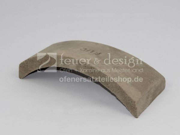Feuerraumumlenkplatte FUC zu Brunner HF10 / HF15 /01210
